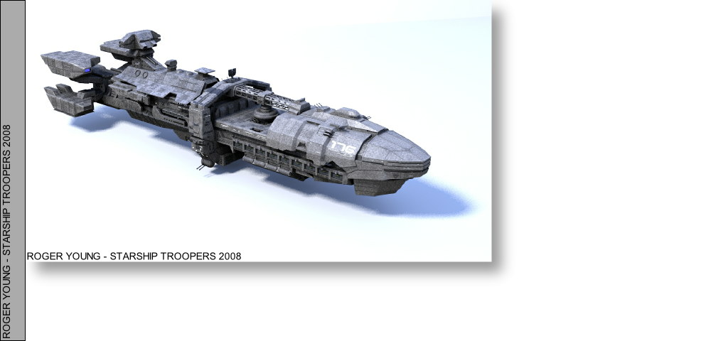 3D Printed Starship Tropper Roger Young